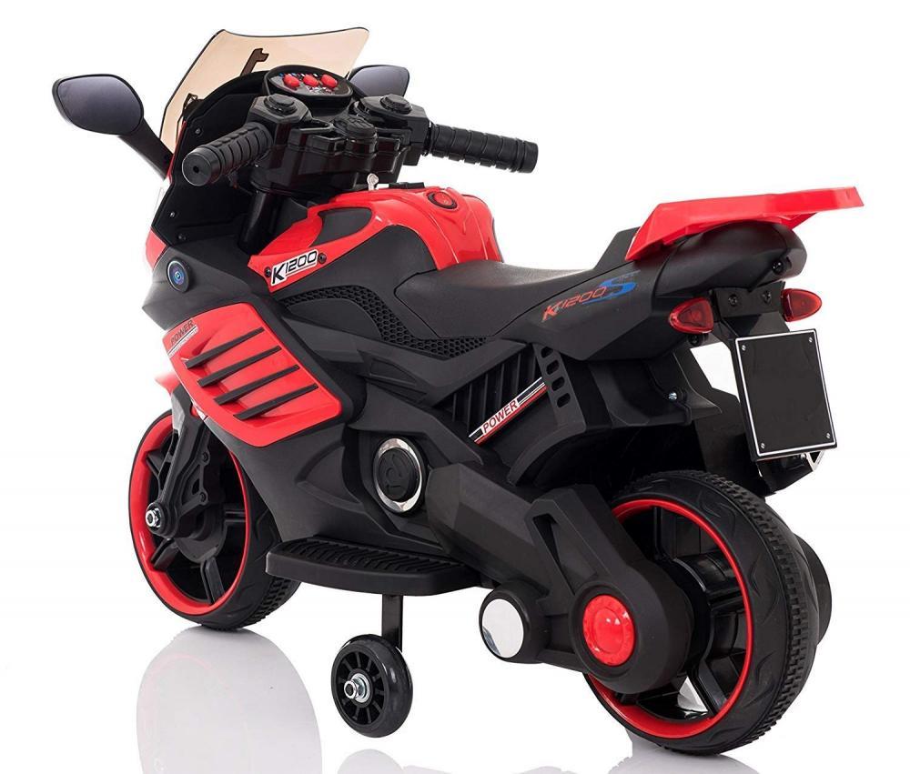 Motocicleta electrica Predator Red - 6