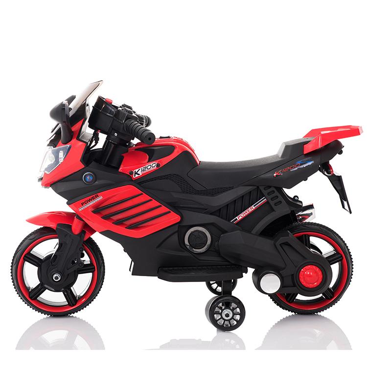 Motocicleta electrica Predator Red - 8
