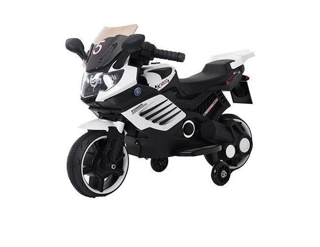 Motocicleta electrica Predator White - 1