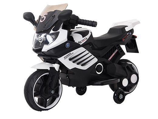Motocicleta electrica Predator White