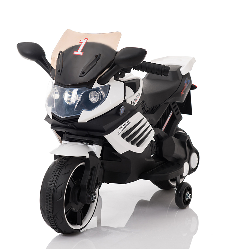 Motocicleta electrica Predator White - 9