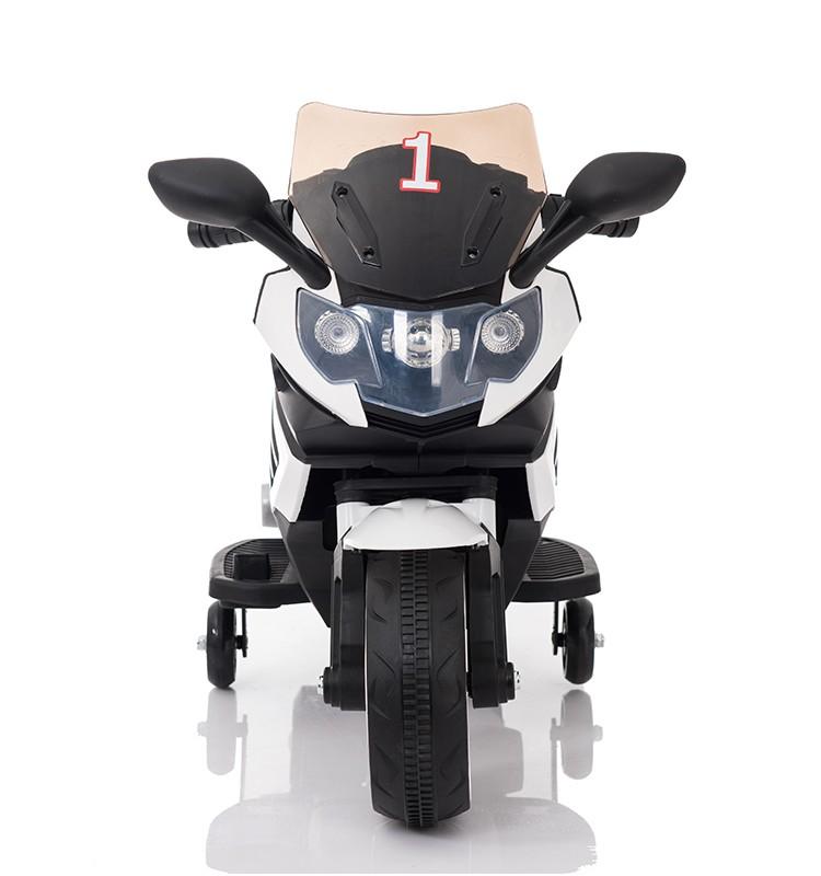 Motocicleta electrica Predator White - 4