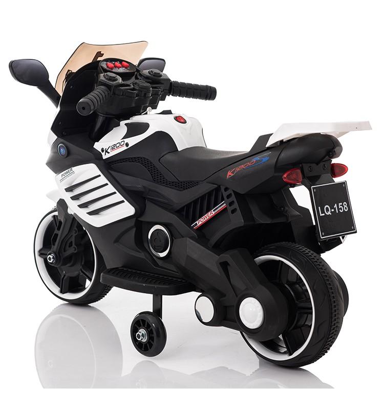 Motocicleta electrica Predator White - 5