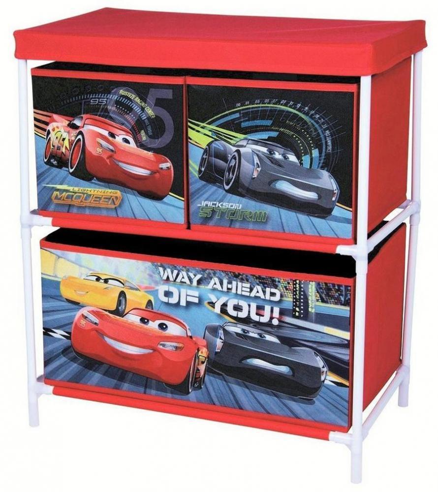 Organizator pentru jucarii cu structura metalica Cars 3
