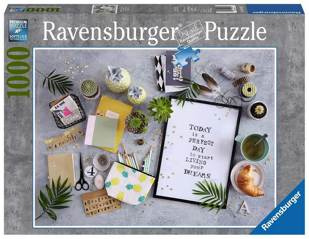 Puzzle Start Living Your Dream 1000 piese