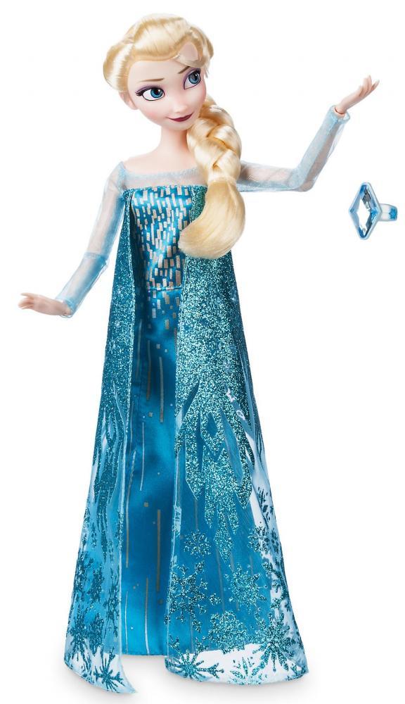 Papusa Printesa Disney Elsa cu inel