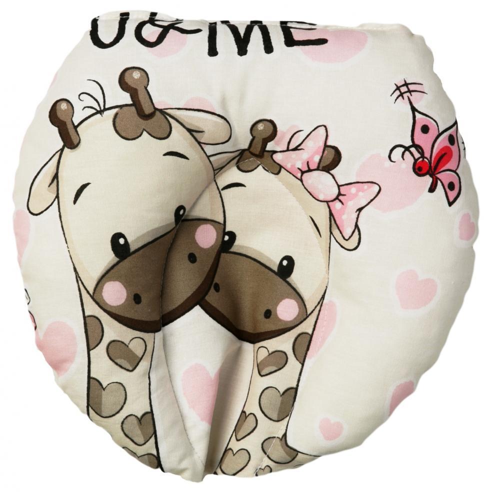 Perna pentru formarea capului bebelusului UMe Pink