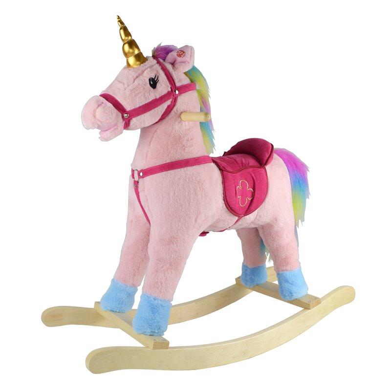 Balansoar Cu Sunete Unicornul Candy