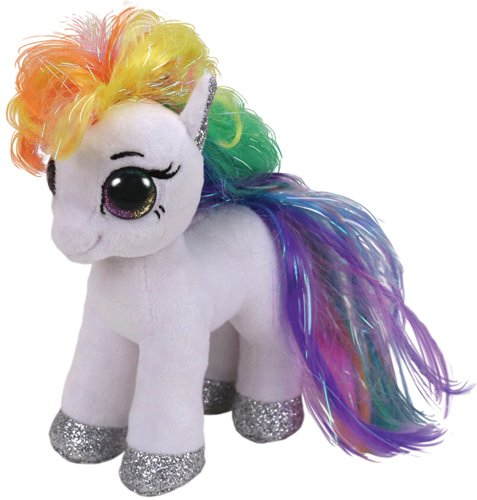 Plus poneiul alb STARR (15 cm) - Ty