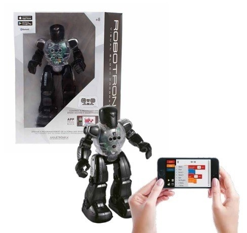 Robot inteligent programabil vizual Robotron Mini Juguetronica