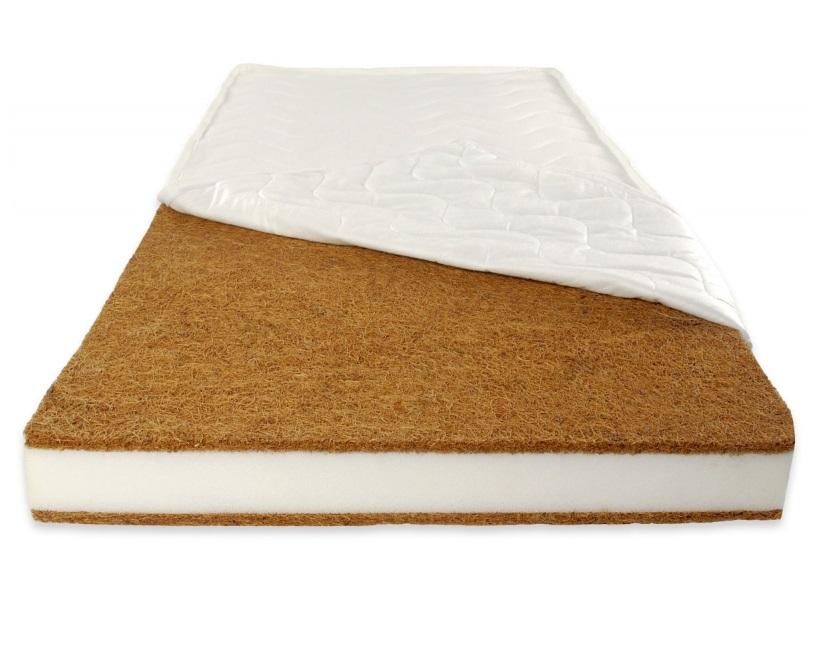 Saltea cu husa detasabila din microfibra Nichiduta Cocos Comfort + 120x60x12 cm