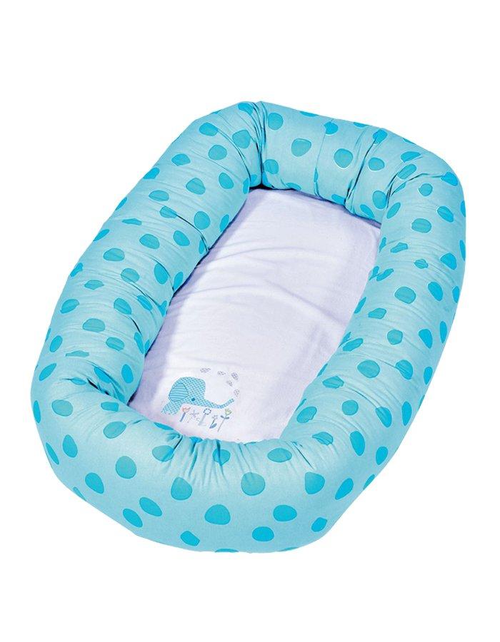 Salteluta Cu Protectie Pentru Bebelusi Baby Dan Elefantastic Bleu