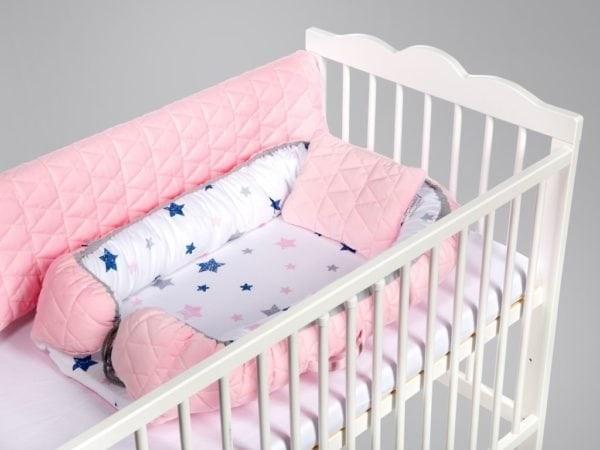 Salteluta Cuib Pentru Bebelusi Blue