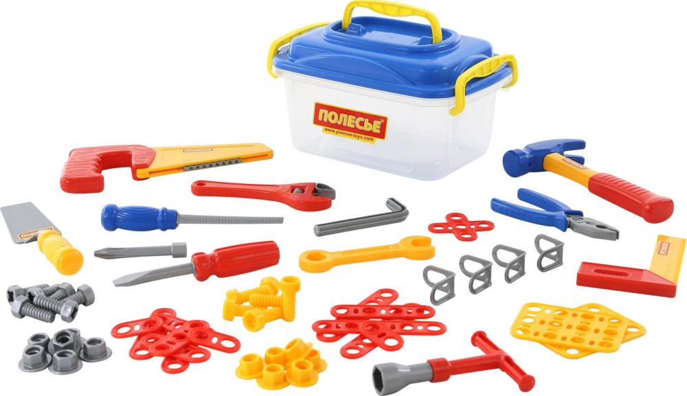 Set cutie cu unelte cu 57 piese Blue