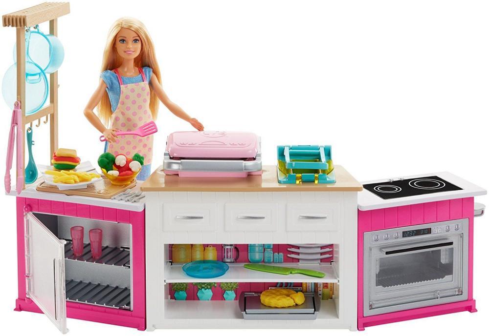 Set de joaca Barbie Bucatarie