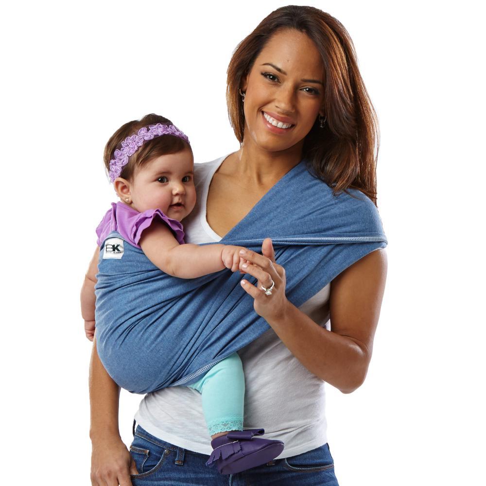 Sistem purtare Baby Ktan Baby Carrier Original Cotton Denim Marimea L