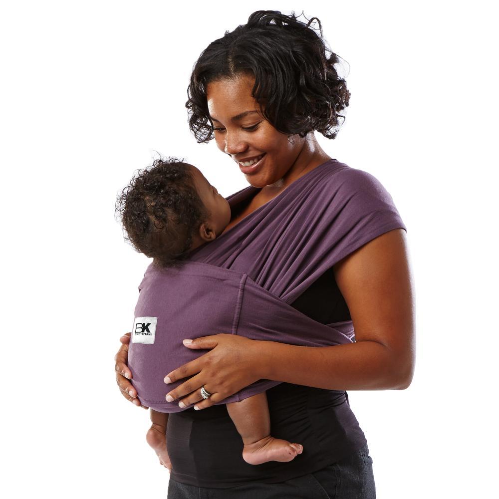 Sistem purtare Baby Ktan Baby Carrier Original Cotton Eggplant marimea S