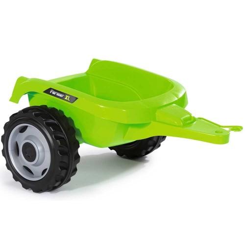 Tractor cu pedale si remorca Smoby Farmer XL verde - 3