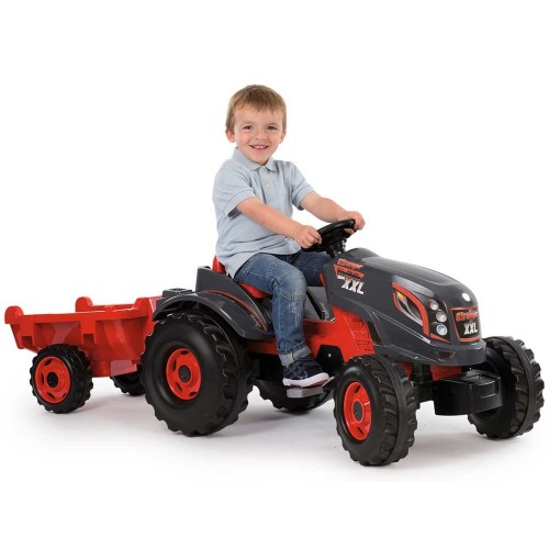 Tractor cu pedale si remorca Smoby Stronger XXL - 3