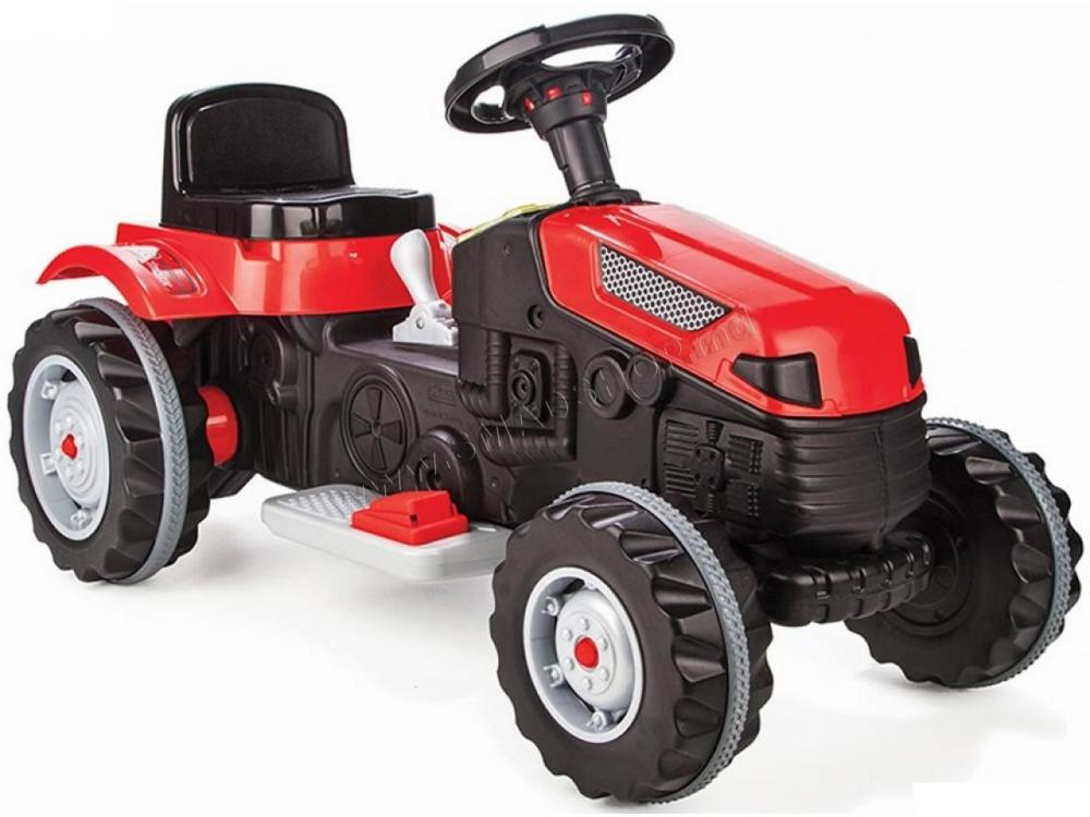 Tractor electric pentru copii Active Red