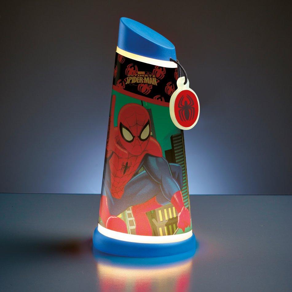 Veioza 2 in 1 Go Glow Spiderman