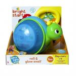 Jucarie 2 in 1 Roll & Glow Snail