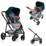 Carucior Kiddo Jazz 2 in 1 Emerald