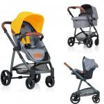 Carucior Kiddo Jazz 3 in 1 Deluxe Lemon