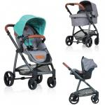 Carucior Kiddo Jazz 3 in 1 Deluxe Mint