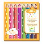 Creioane colorate pentru bebe Djeco