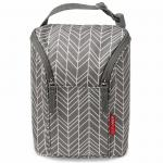 Geanta termoizolanta Skip Hop Grab & Go Grey Feather