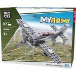 Joc de constructie My Army - Avion (87 piese)
