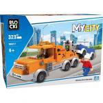 Joc de constructie My City - Automacara tractari (323 piese)