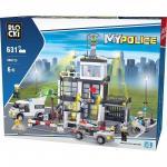 Joc de constructie My Police - Sectia de Politie (631 piese)