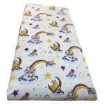 Lenjerie de pat din finet 3 piese 120x60 cm