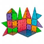 Set magnetic Clear Colors  Magna-Tiles 100 piese