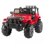 Masinuta electrica cu telecomanda 2.4G Jeep Offroad Red
