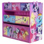Organizator jucarii cu cadru din lemn My Little Pony