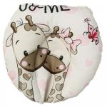 Perna pentru formarea capului bebelusului U&Me Pink