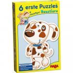 Puzzle cu animale Haba 6buc 2ani+