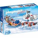 Sanie Trasa de Husky Playmobil