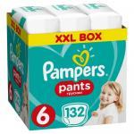 Scutece Pampers Pants  XXL Box 6 Extralarge 15+ kg 132 buc
