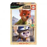 Set 2 super puzzle disney ZooTropolis 25 piese