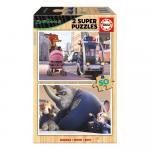 Set 2 super puzzle disney ZooTropolis 50 piese