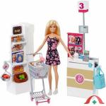 Set De Joaca Supermarket Barbie
