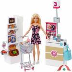 Set De Joaca Supermarket Barbie