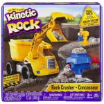 Set excavator 340G Kinetic Sand Rock