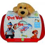 Set trusa veterinar cu catelus de plus 10 piese Ucar Toys UC137