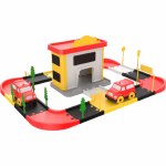 Statie pompieri 46 piese Ucar Toys UC69