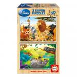 Super Puzzle Disney Jungle 50 piese